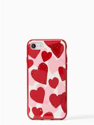 Jeweled Heart Iphone 7 & 8 Case
