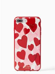 Jeweled Heart Iphone 7 & 8 Plus Case