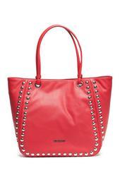 Stud Trim Shoulder Bag
