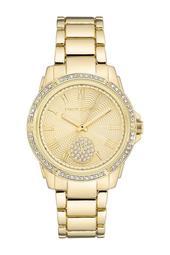 Women's Czech Crystal Embellished Bracelet Watch, 36mm