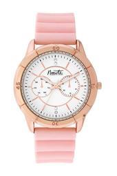 Women's Pink Rubber Sport Watch, 39mm