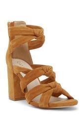 Nadia Knotted Block Heel Sandal