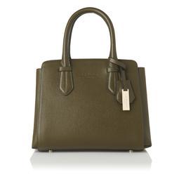Cassandra Khaki Green Tote Bag