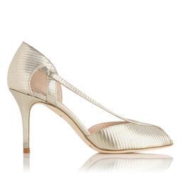 Liya Gold Metallic Sandal