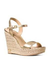 Women's Jill Leather Espadrille Platform Wedge Sandals