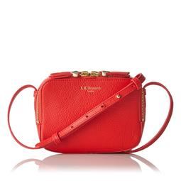 Maggie Red Crossbody Bag