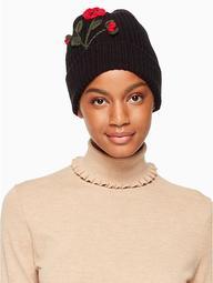 Crochet Poppy Beanie