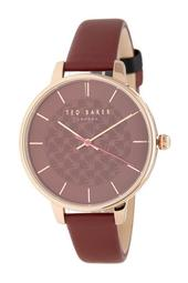 Women's Kate Leather Strap Watch, 38mm
