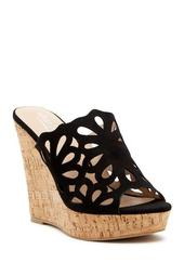 April Cutout Wedge Sandal