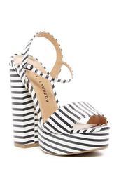 Aries Stripe Platform Sandal