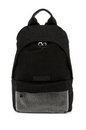 Classic Studded Wrinkled Backpack
