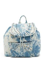 Vera Tie Dye Denim Backpack