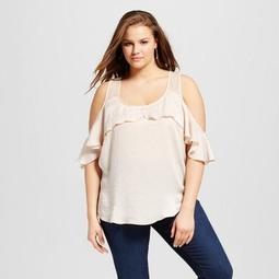 Women's Plus Size Off the Shoulder Sleeveless Tank - Almost Famous
