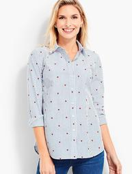 The Classic Casual Shirt - Hearts & Stripes