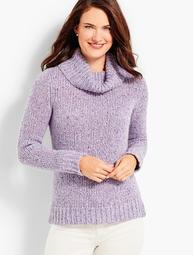Tweed Turtleneck