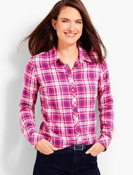 The Classic Cotton Shirt - Wonderland Plaid
