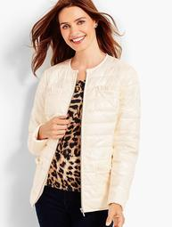 Cire Ruffle Jacket