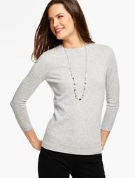 Cashmere Audrey Sweater - Sparkle