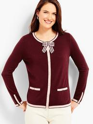 Tipping & Bow Charming Cardigan