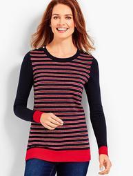 Sparkle Stripe Sweater