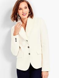 Faux-Fur Collar Aberdeen Blazer