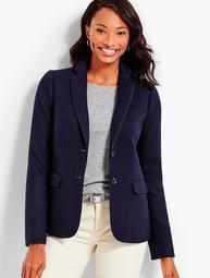 Herringbone Shetland Jacket