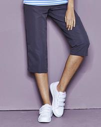 Three-Quarter Length And Charcoal Woven Pants Pack Of 2