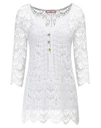 Joe Browns Crochet Cover Up With Cami