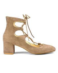 Sole Diva Ghillie Tie Block Heel