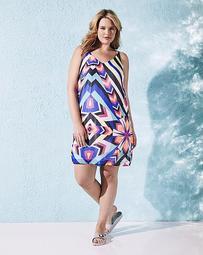 Multi Print Cami Dress