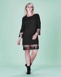 La Tassel Hem Dress