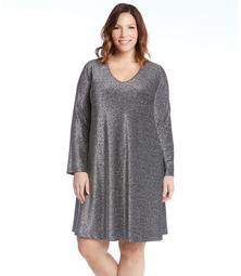 Plus Size Sparkle Taylor Dress