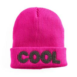 """Women's Mudd® Embroidered """"Cool"""" Beanie"""
