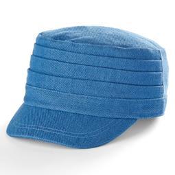 Women's Apt. 9® Pleated Denim Cadet Hat