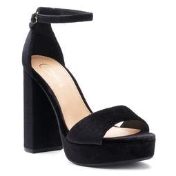 Candie's® Gowns Women's Velvet Platform Heels