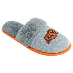 Women's Oklahoma State Cowboys Sherpa-Lined Clog Slippers