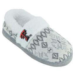Women's Texas Tech Red Raiders Snowflake Slippers