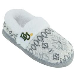 Women's Baylor Bears Snowflake Slippers