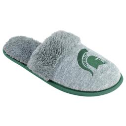 Women's Michigan State Spartans Sherpa-Lined Clog Slippers