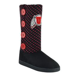 Women's Utah Utes Button Boots