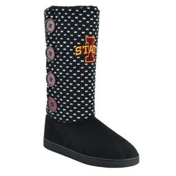 Women's Iowa State Cyclones Button Boots