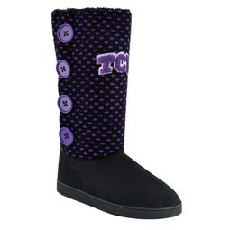 Women's TCU Horned Frogs Button Boots