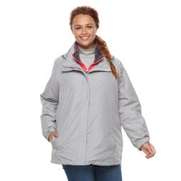 Plus Size ZeroXposur Piper 3-in-1 Systems Jacket