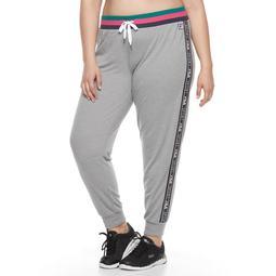 Plus Size FILA SPORT® Heritage Banded Jogger Pants