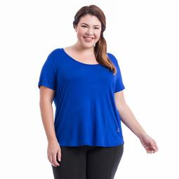 Plus Size Balance Collection Reina Strappy Back Tee