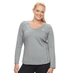 Plus Size FILA SPORT® Essential V-Neck Tee