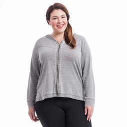 Plus Size Balance Collection Workout Hoodie