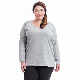 Plus Size Balance Collection Pippa V-Neck Top