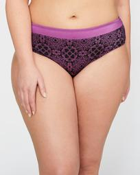 Printed High Cut Panty - Déesse Collection