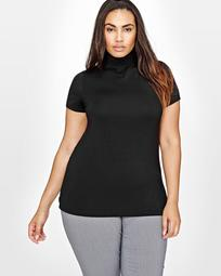 Michel Studio Mock Neck Top